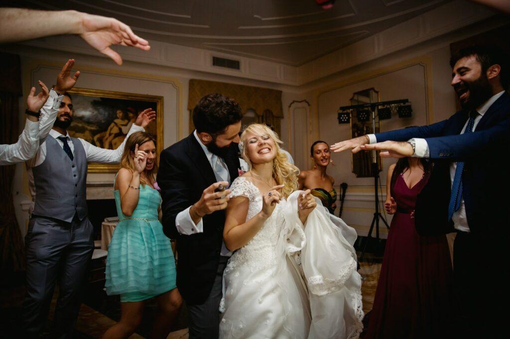 wedding dances in villa miani